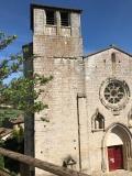 La collégiale Saint-Martin - Montpezat de Quercy